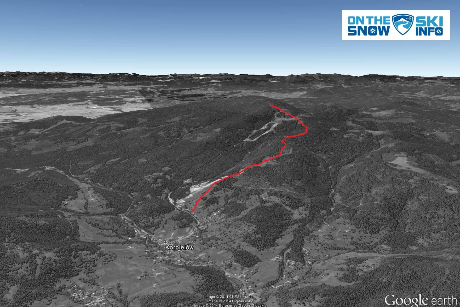 Najdłuższe trasy narciarskie w Polsce - Korbielów