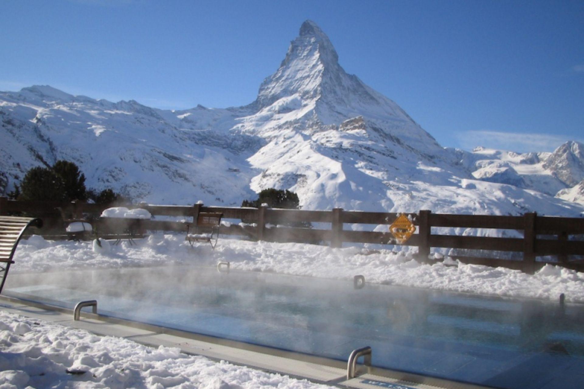 Narty latem Szwajcaria
