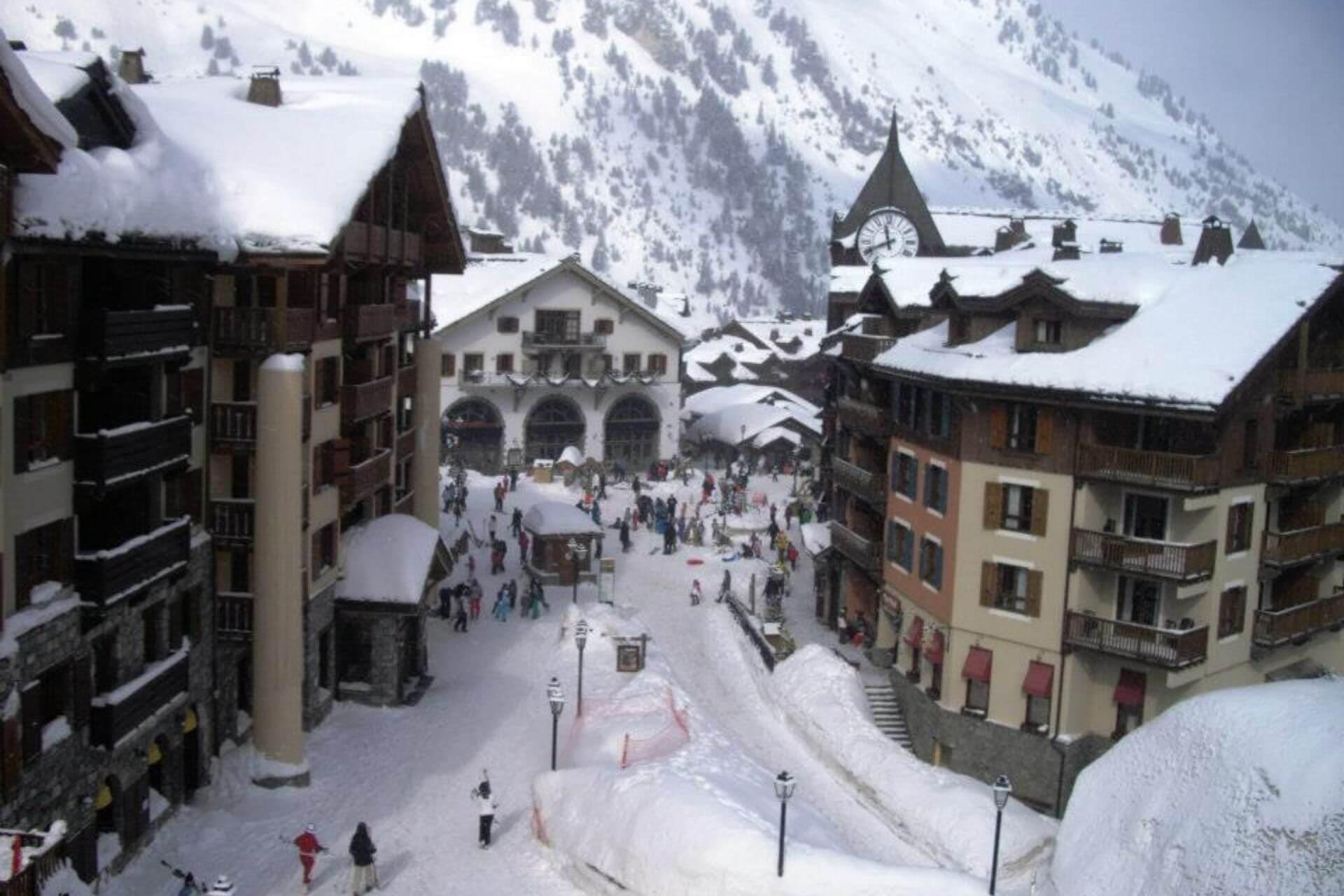Najwyżej położone ośrodki w Alpach - Les Arcs