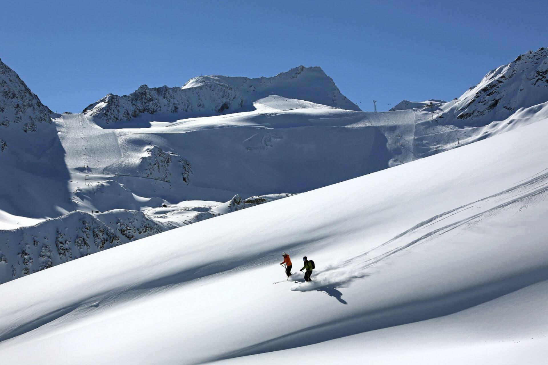 Najwyżej położone ośrodki w Alpach - Hochsoelden