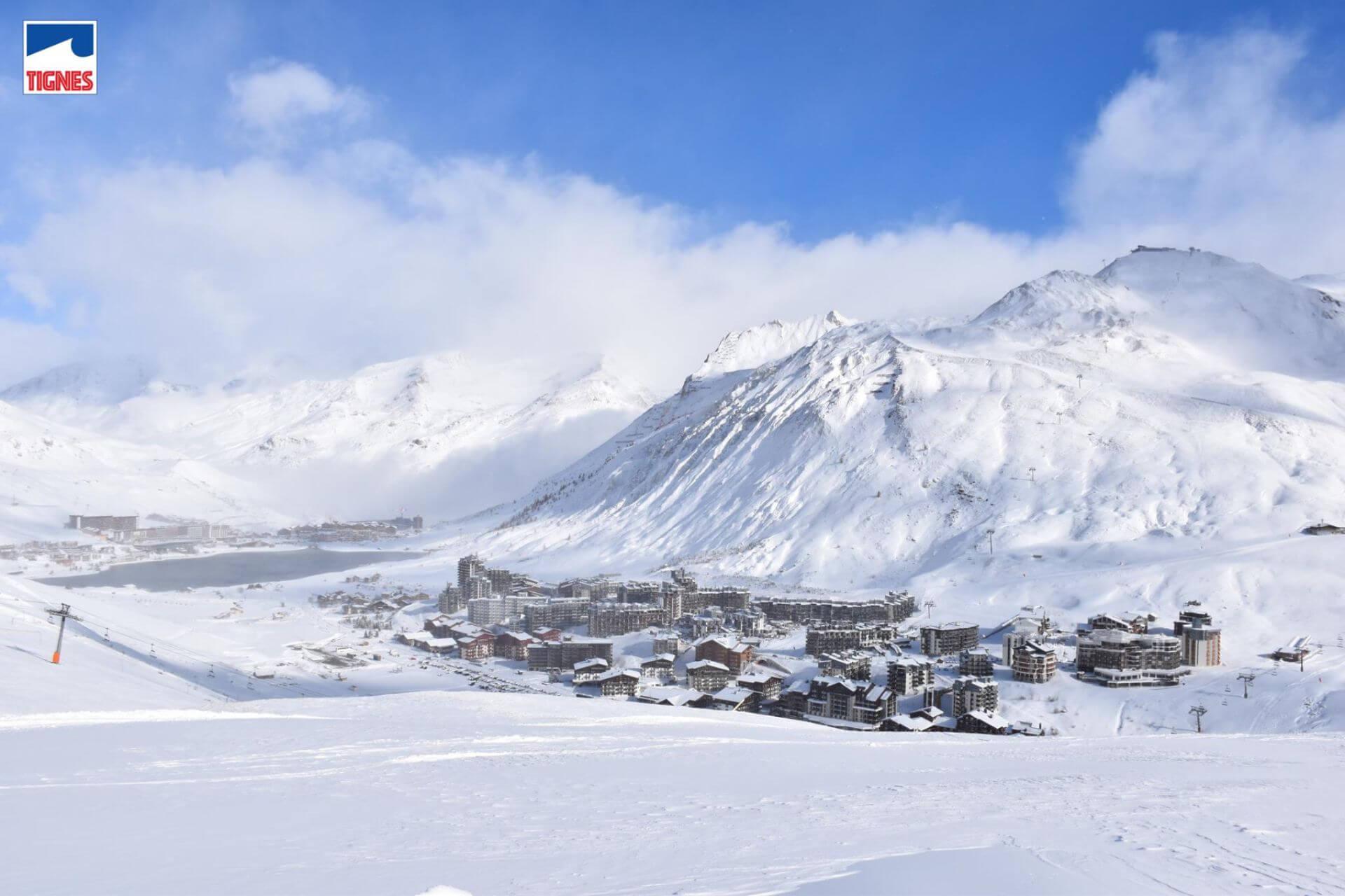 Najwyżej położone ośrodki w Alpach - Tignes