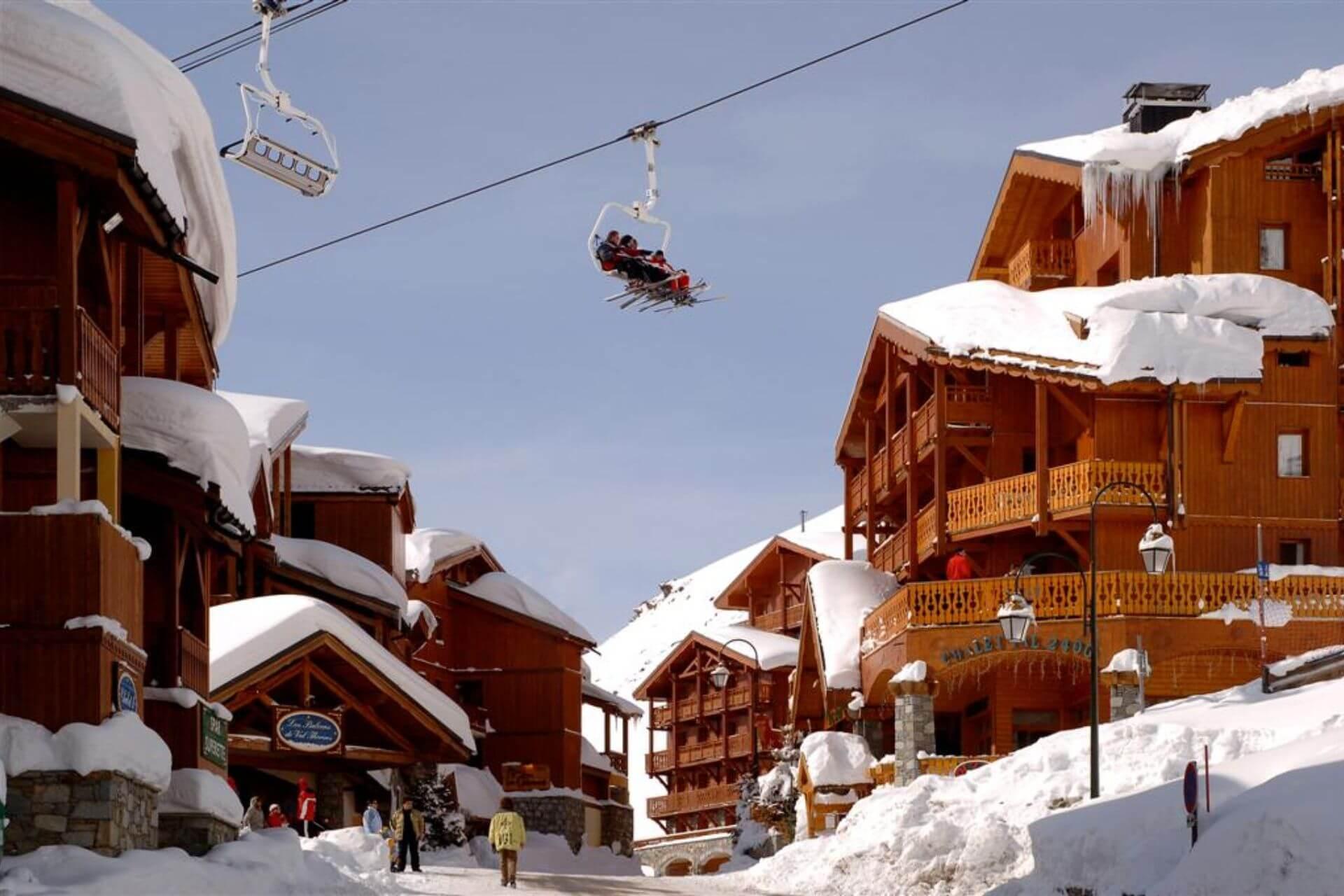 Najwyżej położone ośrodki w Alpach - Val Thorens