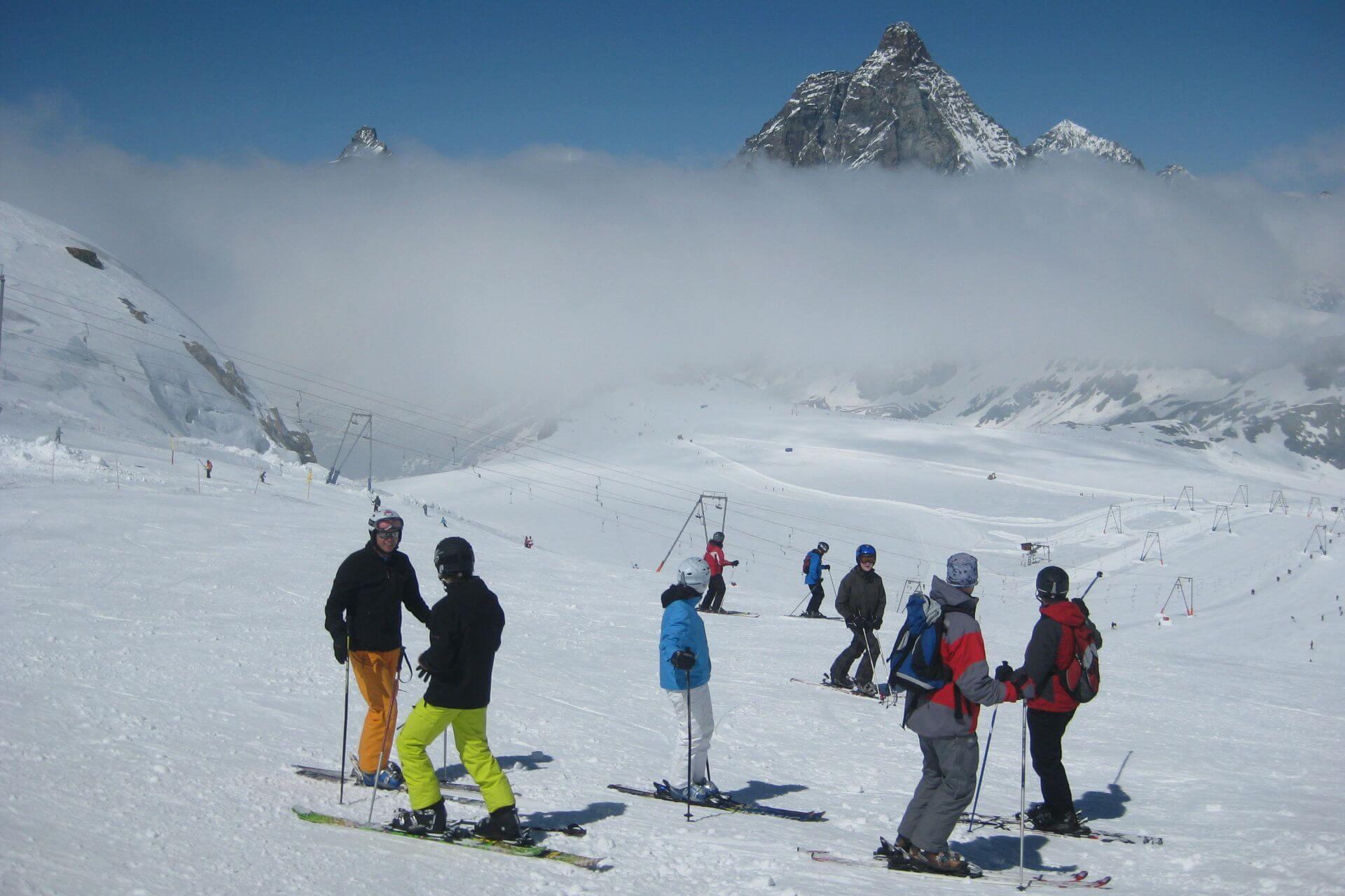 Zermatt - majowe narty u stóp Matterhornu
