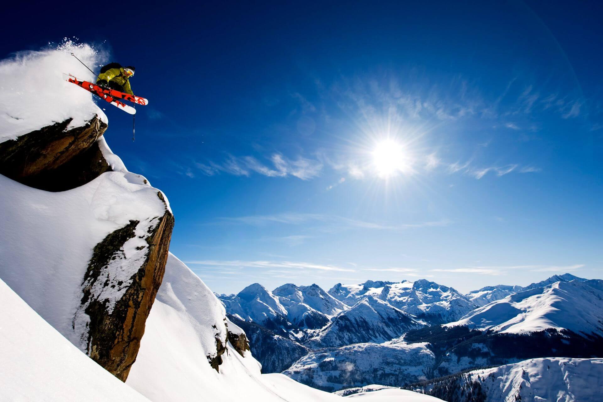 Freeride w Alpach