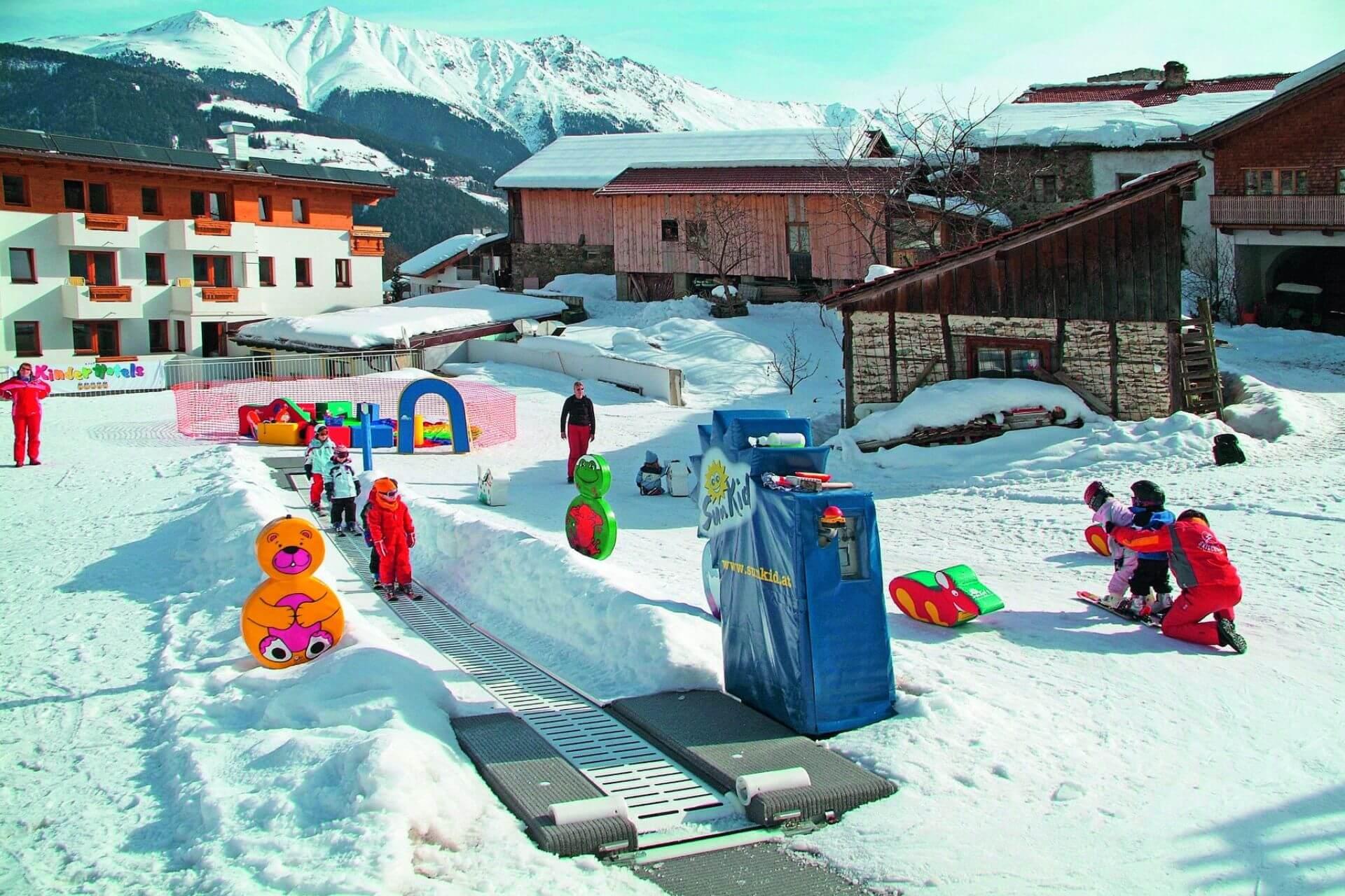 bezpieczenstwo na nartach dzieci